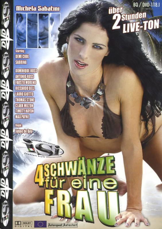 4 Schwänze für eine Frau DVD Image