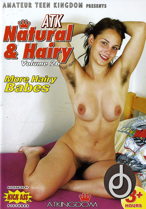 Atk Natural Hairy Dvd 74