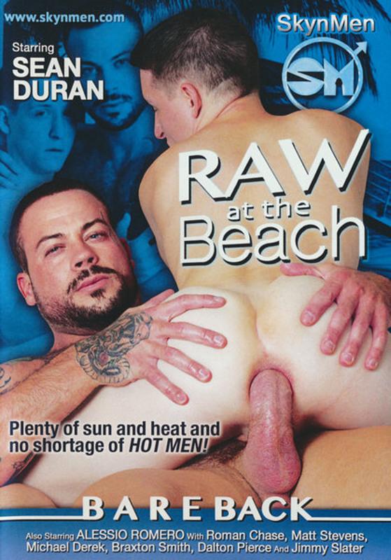 Raw At The Beach Gay DVD image